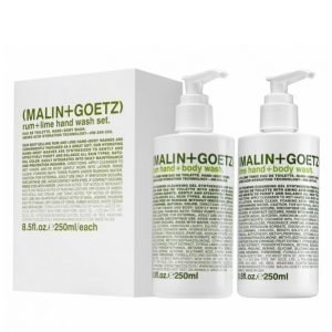 Malin + Goetz Rum + Lime Hand Wash Set 250 Ml