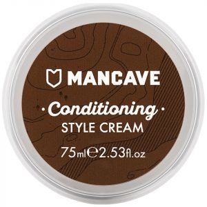 Mancave Conditioning Whisky Scented Style Cream 75 Ml