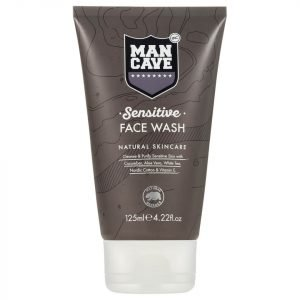 Mancave Sensitive Face Wash 125 Ml