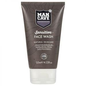 Mancave Sensitive Face Wash 125 Ml
