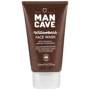Mancave Willow Bark Face Wash 150 Ml