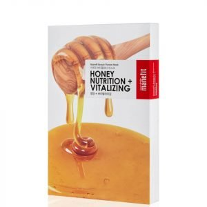 Manefit Beauty Planner Honey Nutrition + Revitalizing Mask Box Of 5