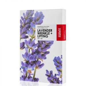 Manefit Beauty Planner Lavender Wrinkle + Lifting Mask Box Of 5