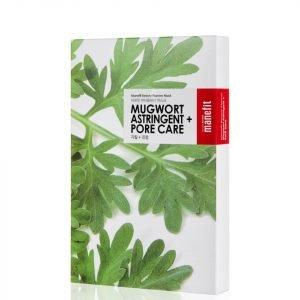 Manefit Beauty Planner Mugwort Astringent + Pore Care Mask Box Of 5