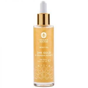 Manuka Doctor 24k Gold & Manuka Honey Body Oil 50 Ml