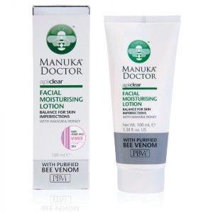Manuka Doctor Apiclear Facial Moisturising Lotion 100 Ml