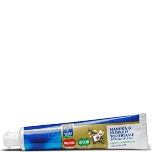 Manuka Health Propolis And Mgo 400 Manuka Honey Toothpaste With Tea Tree Oil 100 G