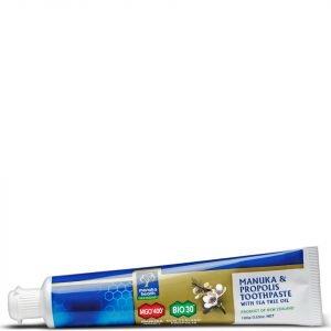 Manuka Health Propolis And Mgo 400 Manuka Honey Toothpaste With Tea Tree Oil 100 G