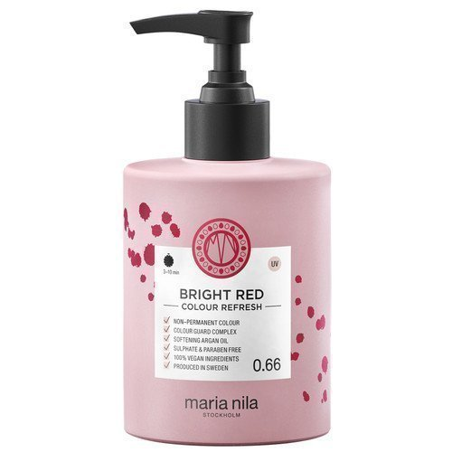 Maria Nila Colour Refresh 0.66 Bright Red 300 ml
