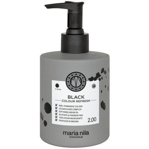 Maria Nila Colour Refresh 2.00 Black 300 ml