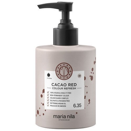 Maria Nila Colour Refresh 6.35 Cacao Red 300 ml