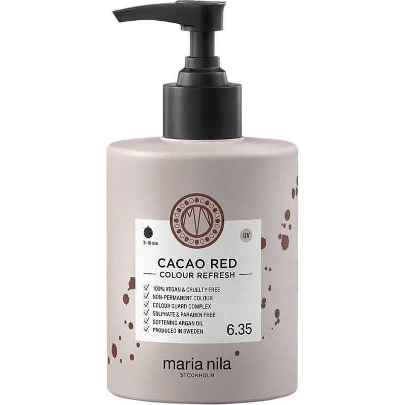 Maria Nila Colour Refresh 6.35 Cacao Red 300ml