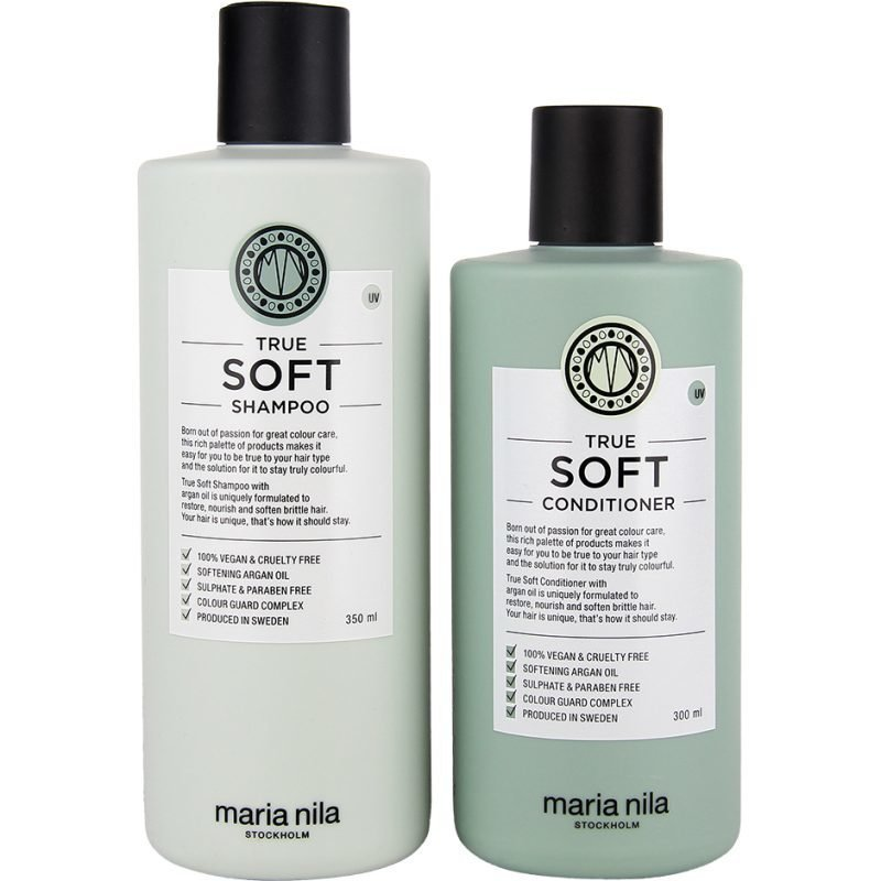 Maria Nila True Soft Duo Shampoo 350ml Conditioner 300ml