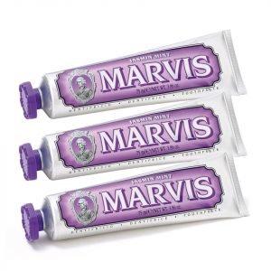 Marvis Jasmine Mint Toothpaste Bundle 3x85 Ml