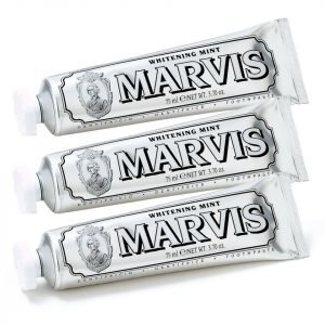 Marvis Whitening Mint Toothpaste Bundle 3x85 Ml