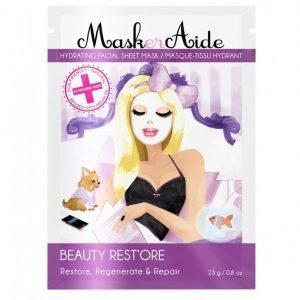 Maskeraide Beauty Restore Sheet Mask Kasvonaamio White