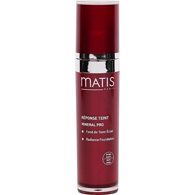 Matis Réponse Teint Mineral Pro  Radiance Foundation 04 Dark Beige 30ml