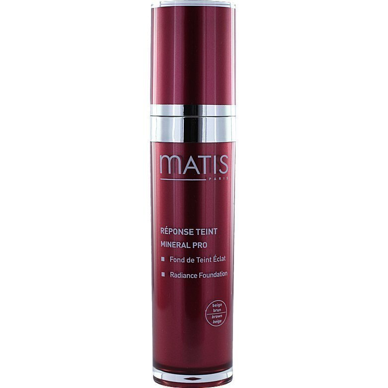 Matis Réponse Teint Mineral Pro Radiance Foundation 05 Beige Brown 30ml