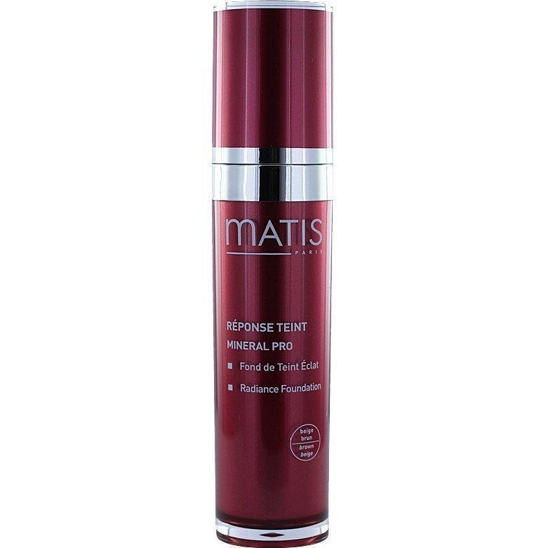 Matis Réponse Teint Mineral Pro Radiance Foundation 05 Beige Brown 30ml