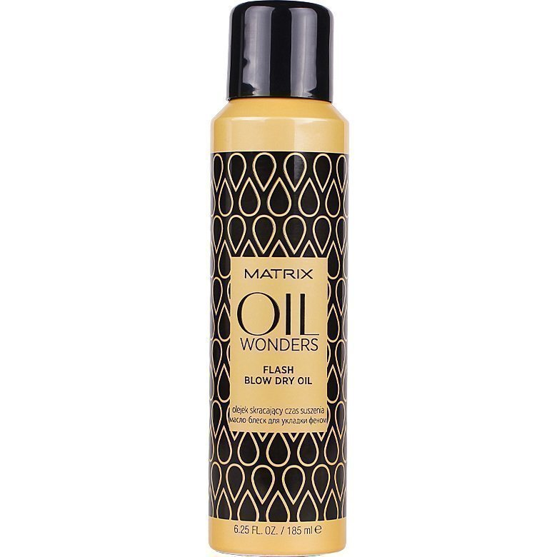 Matrix Oil Wonders Flash Blow Dry Oil 185ml