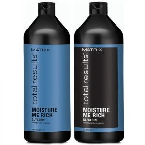 Matrix Total Results Moisture Me Rich Shampoo And Conditioner 1000 Ml