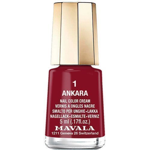 Mavala Nail Color Cream 1 Ankara