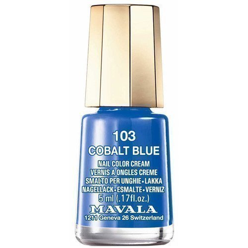Mavala Nail Color Cream 103 Cobalt Blue