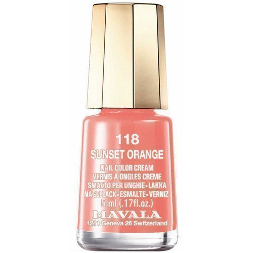 Mavala Nail Color Cream 118 Sunset Orange