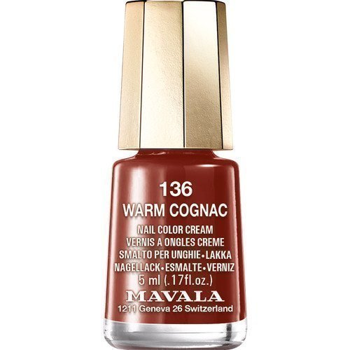 Mavala Nail Color Cream 136 Warm Cognac