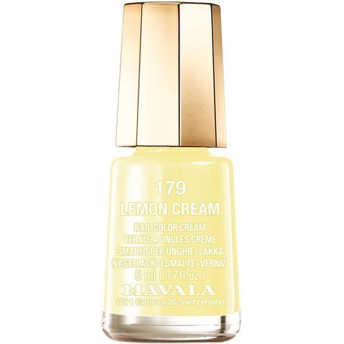 Mavala Nail Color Cream 179 Lemon Cream