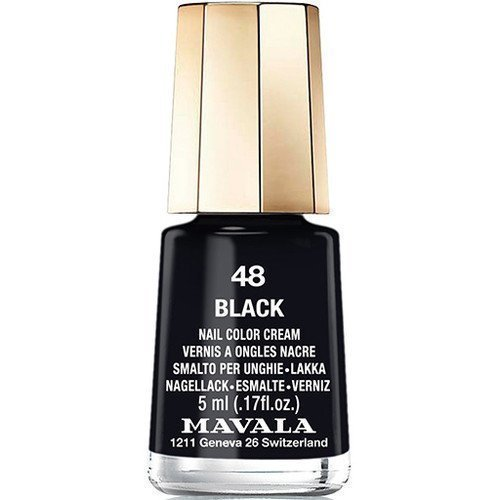 Mavala Nail Color Cream 48 Black