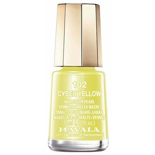Mavala Nail Color Pearl 102 Cyber Yellow