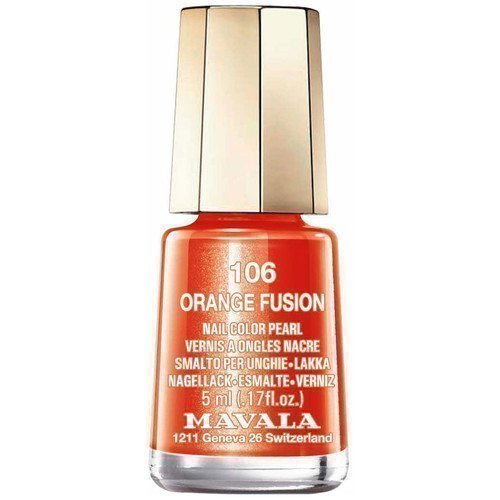 Mavala Nail Color Pearl 106 Orange Fusion