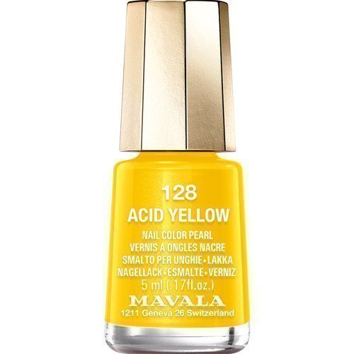 Mavala Nail Color Pearl 128 Acid Yellow