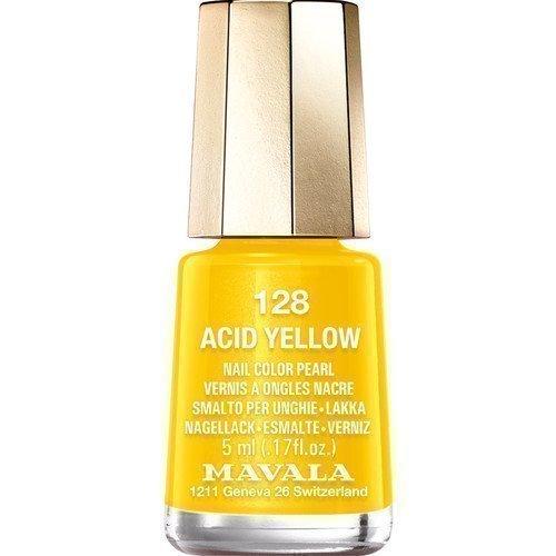 Mavala Nail Color Pearl 128 Acid Yellow