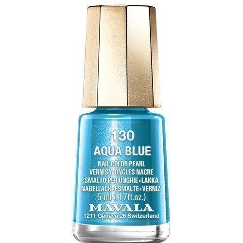 Mavala Nail Color Pearl 130 Aqua Blue