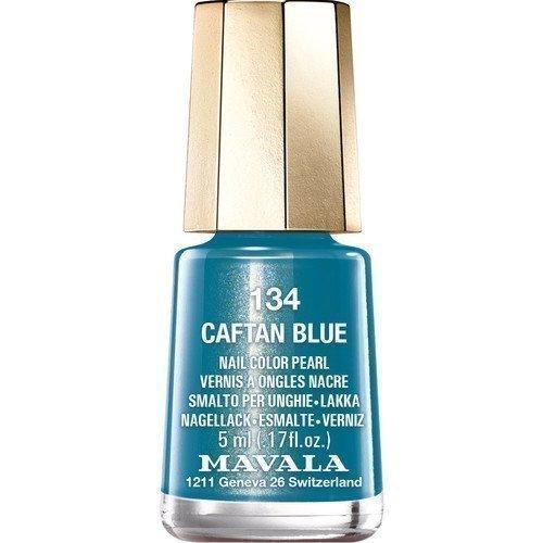 Mavala Nail Color Pearl 134 Caftan Blue