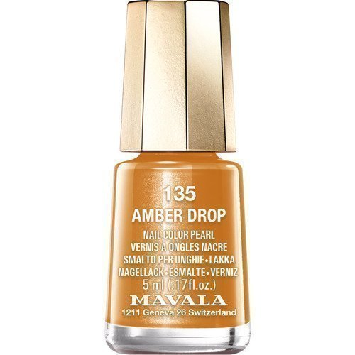 Mavala Nail Color Pearl 135 Amber Drop