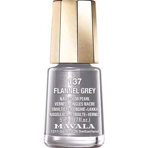 Mavala Nail Color Pearl 137 Flannel Grey