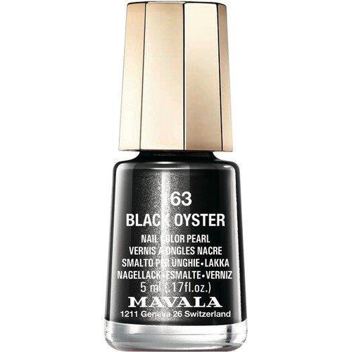 Mavala Nail Color Pearl 163 Black Oyster