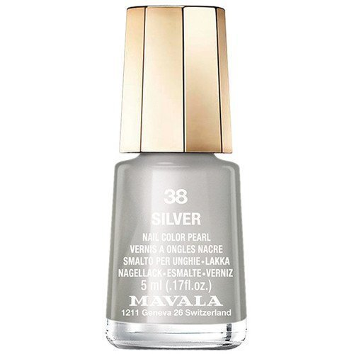 Mavala Nail Color Pearl 38 Silver