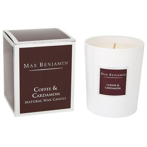 Max Benjamin Coffee & Cardamom Natural Wax Candle