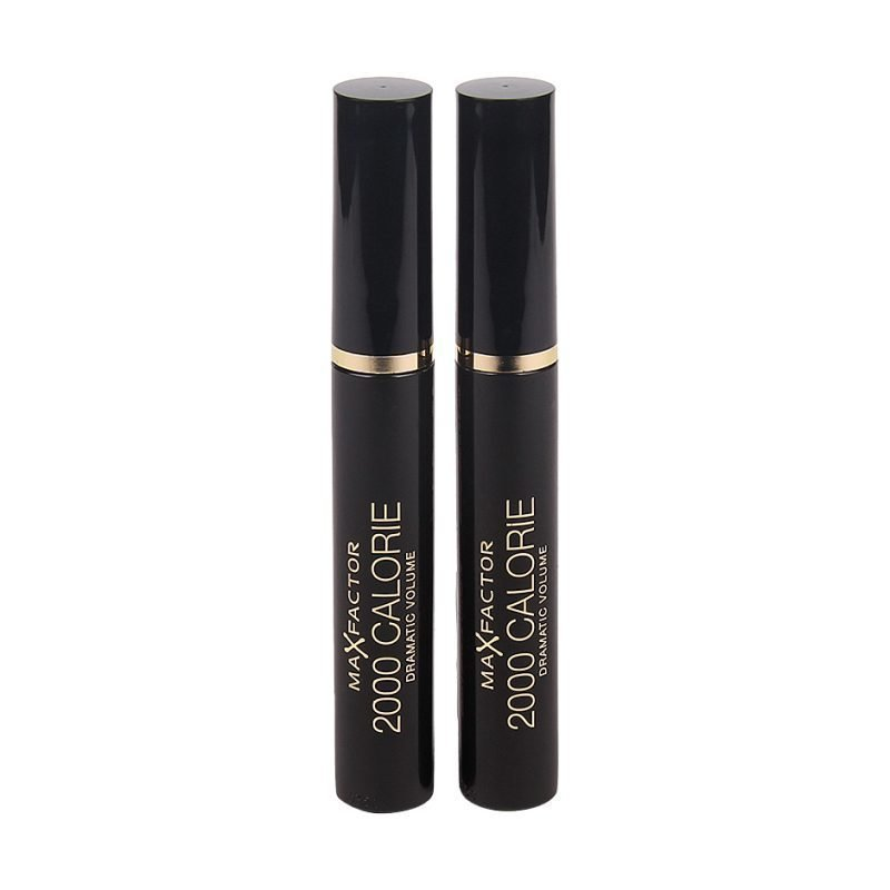 Max Factor 2000 Calorie Duo Mascara Black N°02 Black/Brown x 2