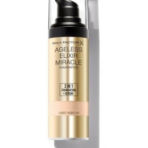 Max Factor Ageless Elixir 2 In 1 Foundation Spf 15 Meikkivoide 30 ml