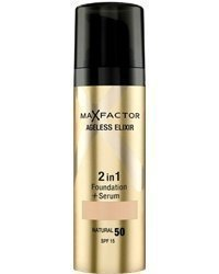 Max Factor Ageless Elixir 2-in-1 Foundation + Serum 30ml 50