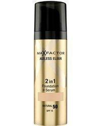 Max Factor Ageless Elixir 2-in-1 Foundation + Serum 30ml 55