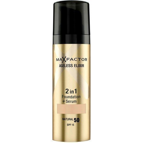 Max Factor Ageless Elixir 2-in-1 Foundation + Serum SPF 15 45 Warm Almond