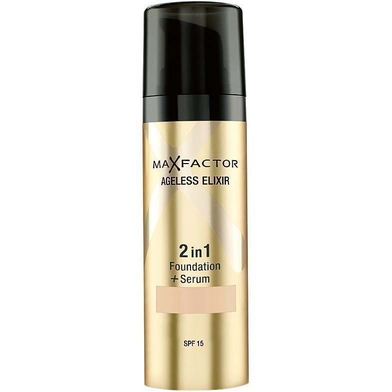 Max Factor Ageless Elixir Foundation 45 Warm Almond