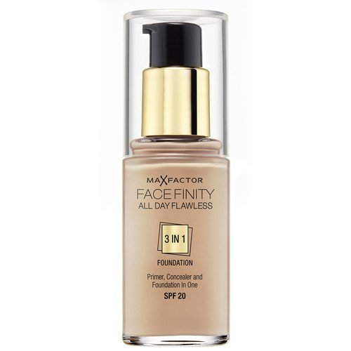 Max Factor All Day Flawless 3-in-1 Foundation 100 Sun Tan