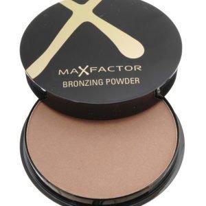 Max Factor Bronzing poudre 02 Bronze aurinkopuuteri